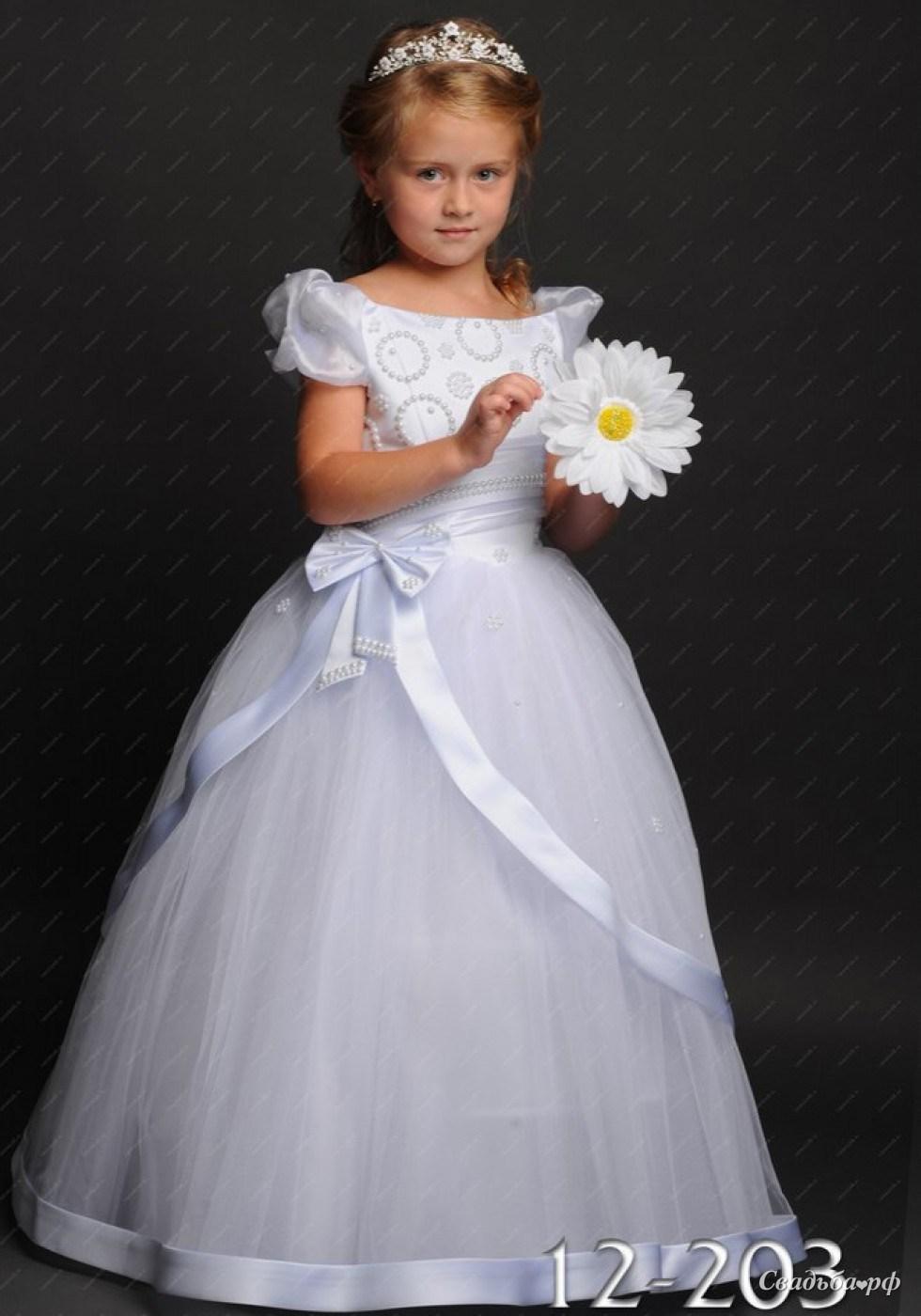 Платье на выпускной в детский сад украсить своими руками